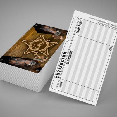 tarjetas brillantes 4×1