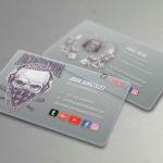 tarjetas translucidas